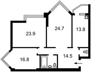 Квартира Бульварно-Кудрявская (Воровского) , 11а, Киев, D-31429 - Фото 2