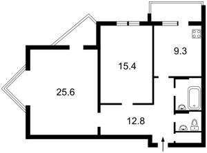 Квартира Верховного Совета бульв., 21а, Киев, L-23781 - Фото2