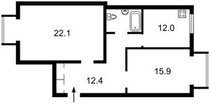 Квартира Z-23035, Мельникова, 6, Киев - Фото 4