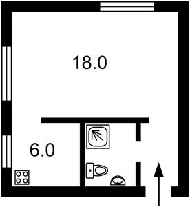 Квартира Сковороды Григория, 3, Киев, X-6071 - Фото2