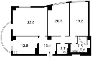 Квартира Оболонская набережная, 1корп 2, Киев, M-30573 - Фото2