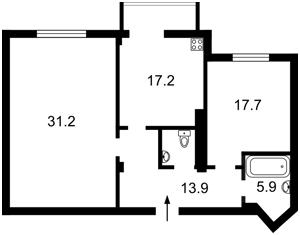 Квартира Окипной Раиcы, 4, Киев, Z-1463644 - Фото2