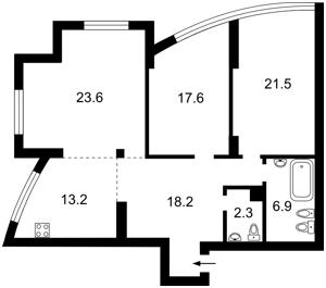 Квартира Героев Сталинграда просп., 2г корп.2, Киев, R-684 - Фото2