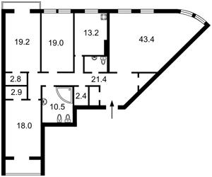 Квартира Щекавицька, 30/39, Київ, Z-1885009 - Фото2