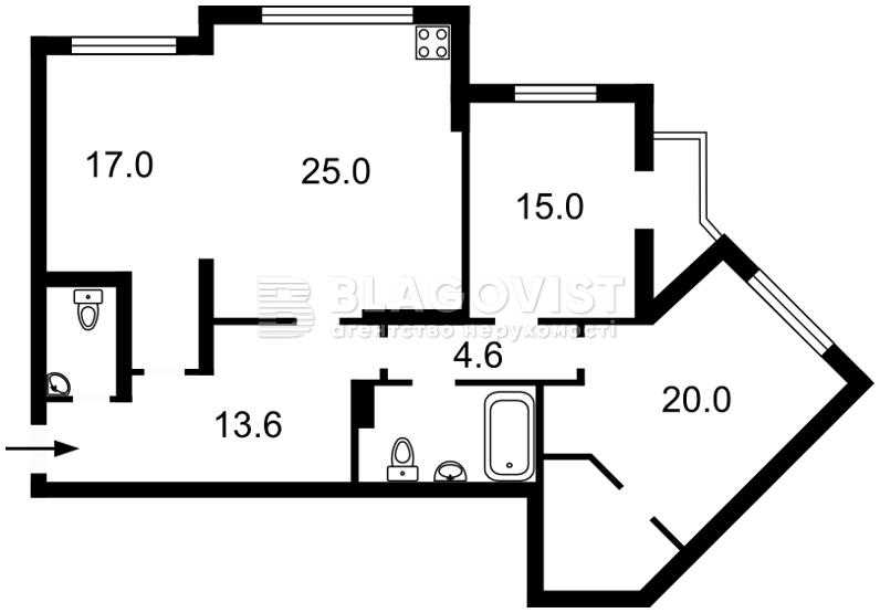 Квартира R-1571, Княжий Затон, 21, Киев - Фото 6