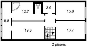 Квартира Мельникова, 83д, Київ, C-103479 - Фото 3