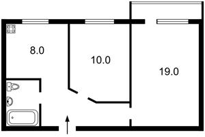 Квартира Сечевых Стрельцов (Артема), 59/65, Киев, G-4961 - Фото2