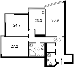 Квартира Кловский спуск, 7А, Киев, M-30863 - Фото 2