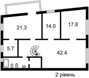 Квартира Михайловская, 24б, Киев, F-37102 - Фото 3