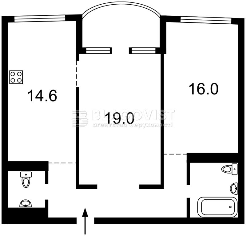 Квартира Z-1721829, Героев Сталинграда просп., 2д, Киев - Фото 5