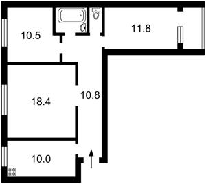 Квартира Малиновского Маршала, 27/23, Киев, D-31705 - Фото2