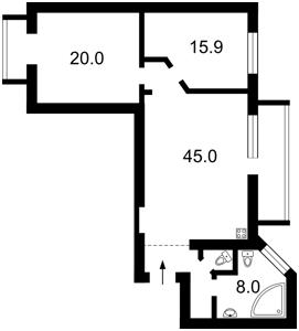 Квартира Малая Житомирская, 5, Киев, Z-1439376 - Фото2
