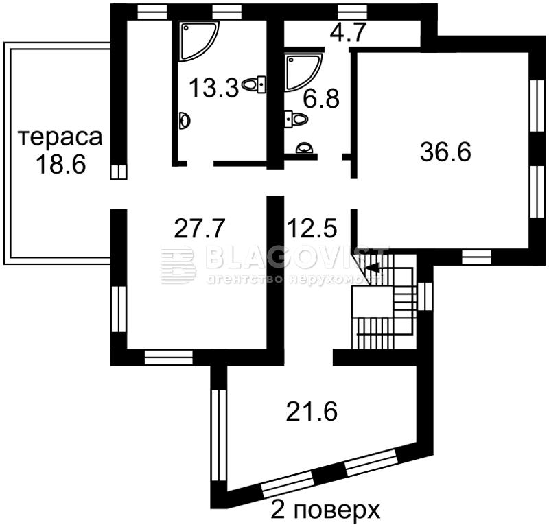 Дом X-11417, Гвардейская, Киев - Фото 7