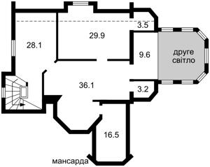 Будинок Крюківщина, P-21144 - Фото 3