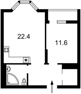 Apartment Kniazhyi Zaton, 9, Kyiv, X-12957 - Photo2