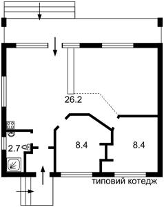 Будинок Зазим'я, F-37333 - Фото 3
