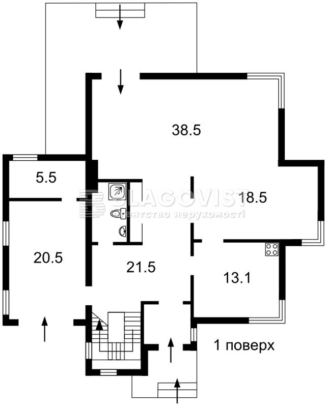 Дом Z-1328306, Садовая (Осокорки), Киев - Фото 6