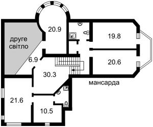 Дом Петровское (Бориспольский), X-32853 - Фото 3