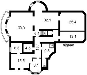 Дом Петровское (Бориспольский), X-32853 - Фото 4