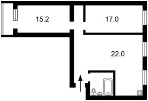 Квартира Січових Стрільців (Артема), 59-65, Київ, A-90771 - Фото2