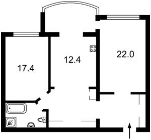 Квартира Вышгородская, 45/2, Киев, F-37115 - Фото2