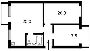 Квартира Голосеевский проспект (40-летия Октября просп.), 88, Киев, Z-52600 - Фото2