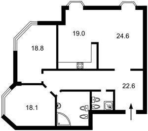 Квартира Кловский спуск, 5, Киев, Z-1841672 - Фото2