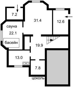 Будинок Лесі Українки вул. (Вітряні Гори), Київ, X-35445 - Фото2
