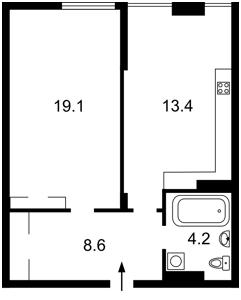 Квартира Регенераторная, 4 корп. 5, Киев, D-32223 - Фото2