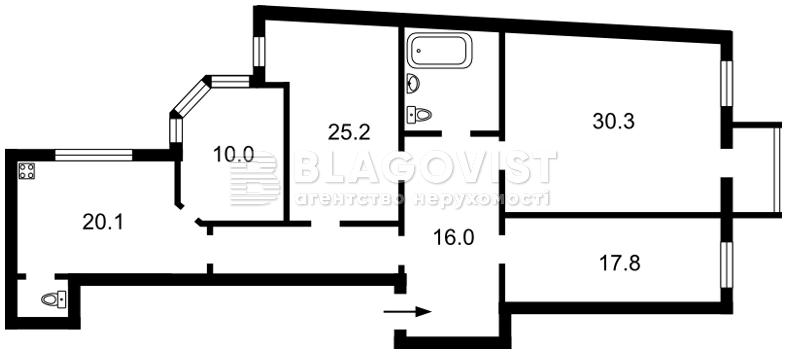 Квартира E-14530, Антоновича (Горького), 10, Киев - Фото 4