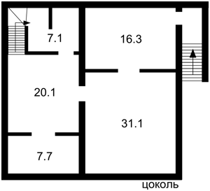Будинок Козин (Конча-Заспа), Z-1257555 - Фото 2