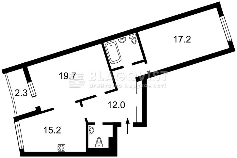 Квартира F-35454, Героев Сталинграда просп., 2д, Киев - Фото 6