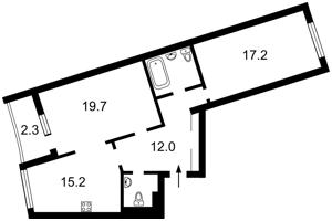 Квартира Героев Сталинграда просп., 2д, Киев, F-35454 - Фото2