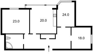 Квартира Героїв Сталінграду просп., 24а, Київ, R-2024 - Фото2