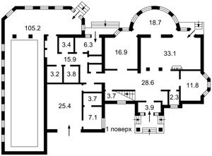 Будинок Козин (Конча-Заспа), M-31215 - Фото1