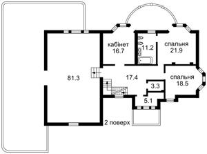Дом Козин (Конча-Заспа), M-31215 - Фото 2