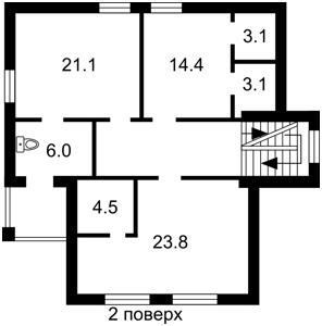 Дом Садовая (Осокорки), Киев, X-22628 - Фото 3