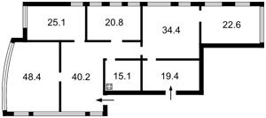 Нежилое помещение, Лобановского просп. (Краснозвездный просп.), Киев, H-39300 - Фото2