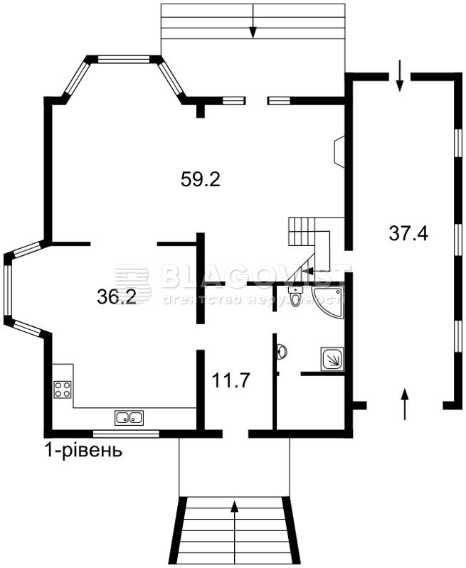 Дом R-6296, Козин (Конча-Заспа) - Фото 5