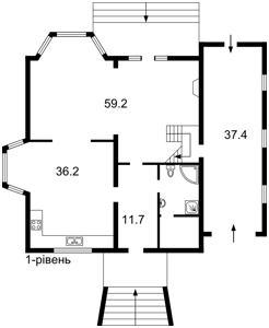 Будинок Козин (Конча-Заспа), R-6296 - Фото 2