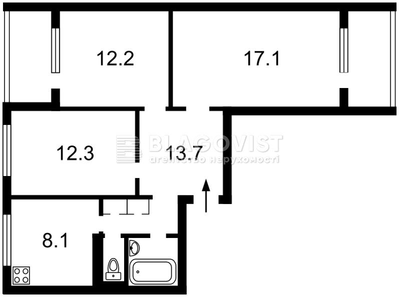 Квартира H-39333, Захаровская, 2, Киев - Фото 2