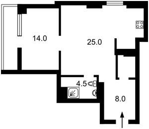 Квартира Златоустовская, 47/49, Киев, E-36217 - Фото 2