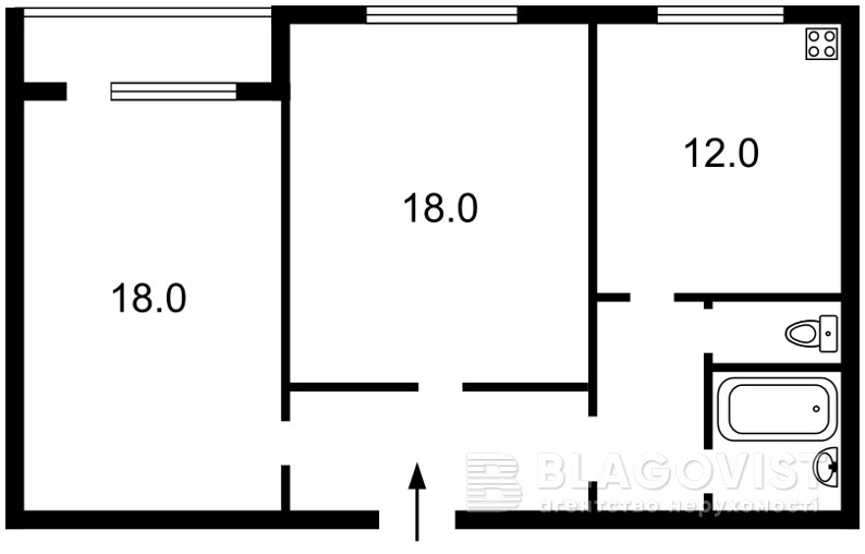 Квартира C-103755, Белицкая, 18, Киев - Фото 4