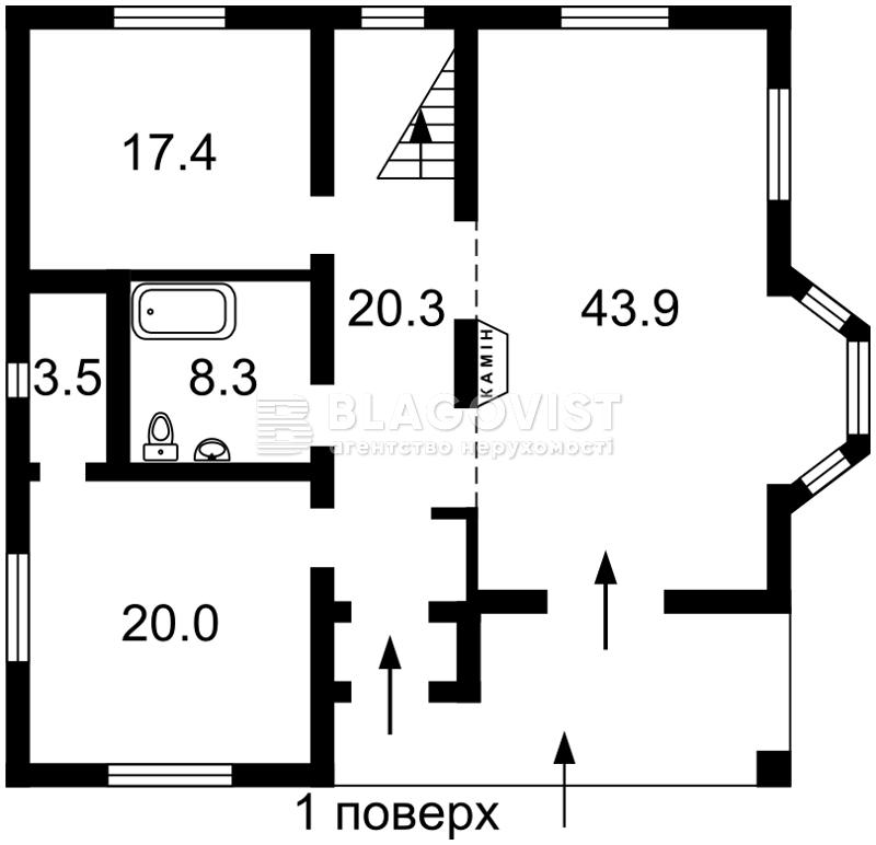 Дом Z-116135, Абрикосовая, Киев - Фото 4