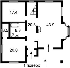 Дом Абрикосовая, Киев, Z-116135 - Фото2