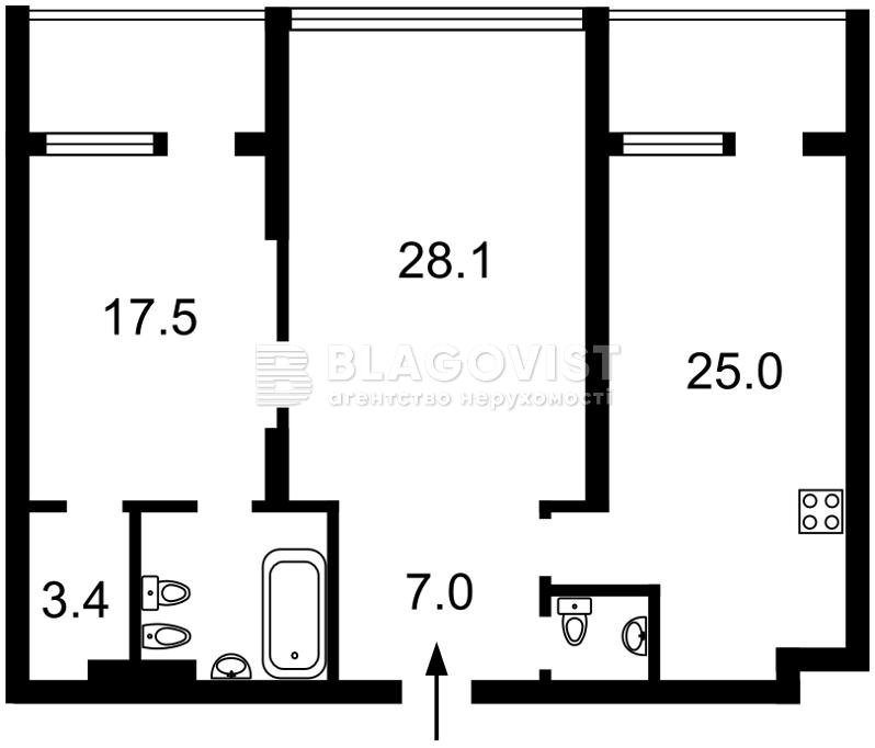 Квартира E-36224, Оболонский просп., 26, Киев - Фото 6