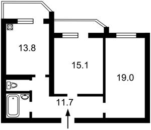 Квартира F-37586, Бориспольская, 12в, Киев - Фото 3