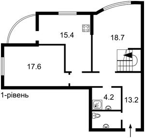 Квартира Лобановского просп. (Краснозвездный просп.), 150г, Киев, R-6568 - Фото2