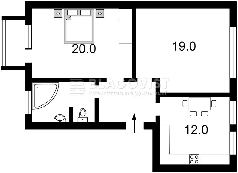 Квартира E-36269, Толстого Льва, 25, Киев - Фото 4