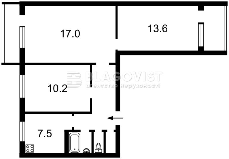 Квартира D-31751, Героев Сталинграда просп., 30, Киев - Фото 5